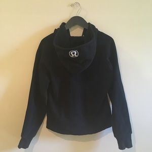 Lululemon Athletica Hooded Zip-Up Fleece Jacket